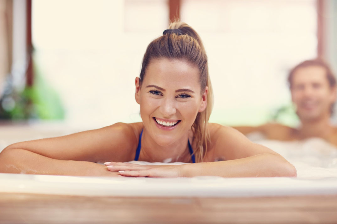 Improve Overall Health with a Hot Tub